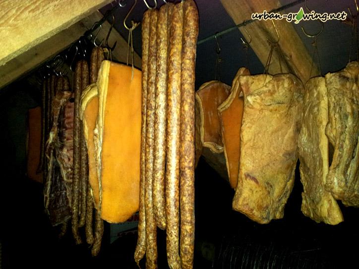 Fleisch und Wurst dörren - www.urban-growing.net