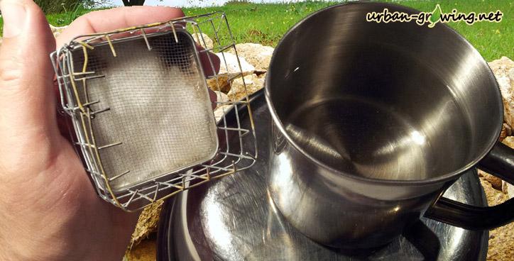 Taschenofen - Minikocher - selfmade outdoor gear - www.urban-growing.net