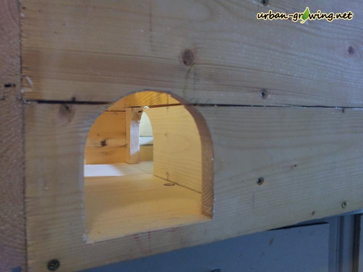 Igelhaus selber bauen, Igelhaus Bauanleitung - www.urban-growing.net