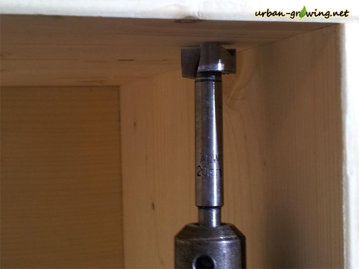 Dörrschrank selber bauen, Biltongbox selbst gebaut - www.urban-growing.net