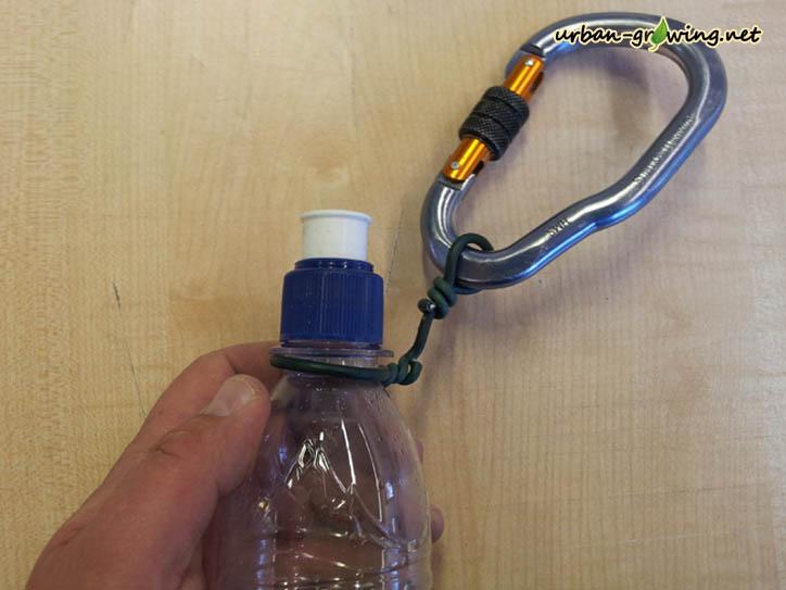 Trinkflasche selbst gemacht - www.urban-growing.net