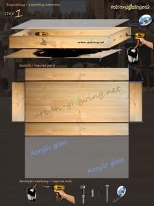 Drying box - step 1 - www.urban-growing.net