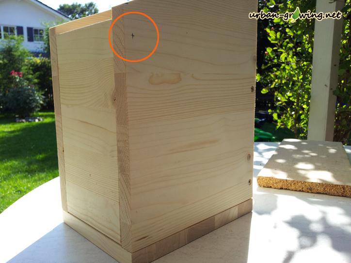bauanleitung f r einen nistkasten brutkasten meisen kasten vogelgartentipps. Black Bedroom Furniture Sets. Home Design Ideas