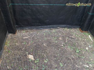 Ein Hochbeet selbst gebaut - www.urban-growing.net