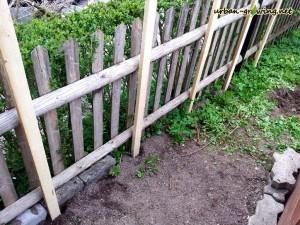 Bohnensplier - Rankhilfe selbst gebaut - www.urban-growing.net