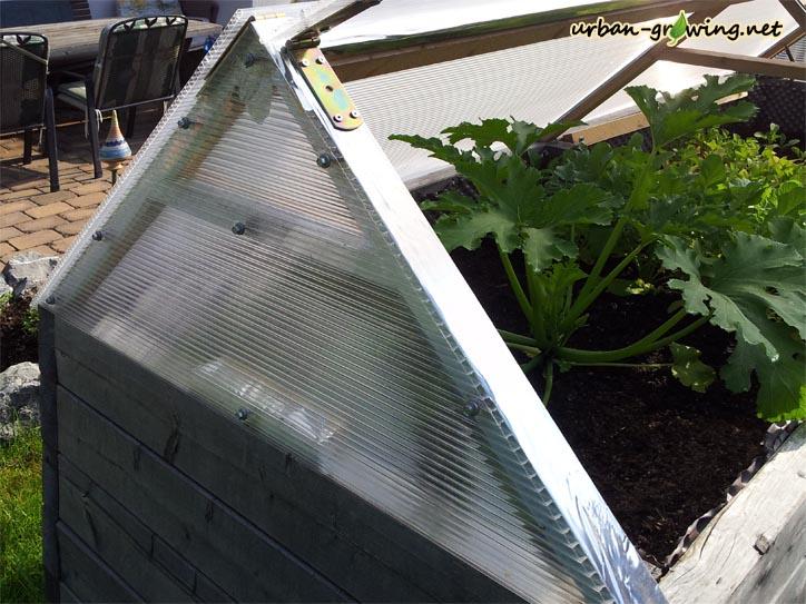 Ganz und zu Extrem Hochbeetdach | Dach für Hochbeet | Hochbeetwetterschutz @MG_21