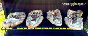 Platterte - Rahmbrote vom Holzkohlegrill