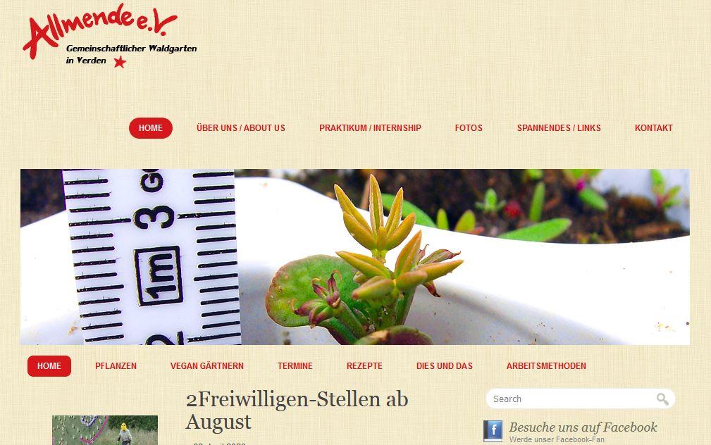 Link Allmende Gemeinschaftsgarten, www.urban-growing.net